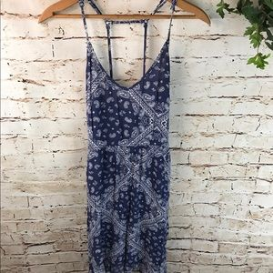 Socialite Bandana Print Sun Dress